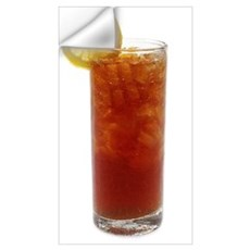 A Glass of Iced Tea Wall Decal
