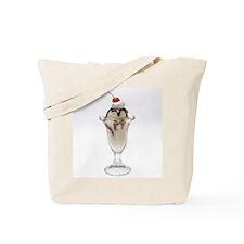 Ice Cream Sundae Tote Bag