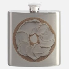 Bagel with Cream Cheese Flask