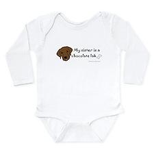 Big sister pets Long Sleeve Infant Bodysuit