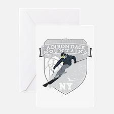 Ski Adirondacks Greeting Card
