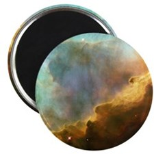 galaxy nebula space clouds pastel stars Magnet