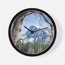 Yosemite's Half Dome Wall Clock