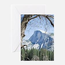 Yosemite's Half Dome Greeting Card