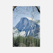 Yosemite's Half Dome Rectangle Magnet