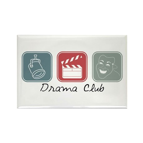 Drama Club (Squares) Rectangle Magnet