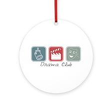 Drama Club (Squares) Ornament (Round)