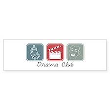 Drama Club (Squares) Bumper Bumper Sticker