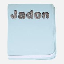 Jadon Wolf baby blanket