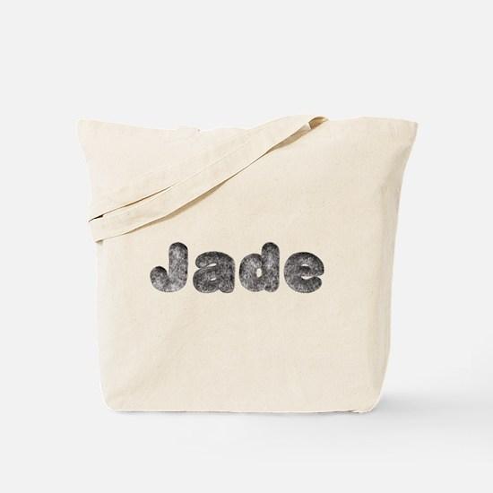 Jade Wolf Tote Bag