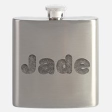 Jade Wolf Flask