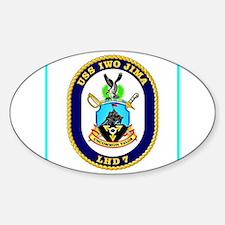 USS Iwo Jima Decal