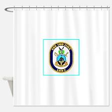 USS Iwo Jima Shower Curtain