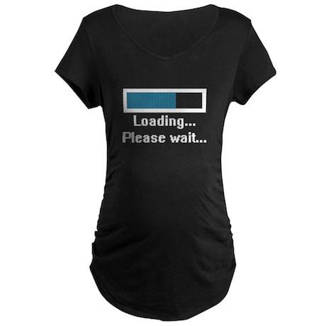 Loading... Please Wait... Maternity Dark T-Shirt