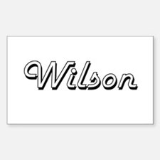 Wilson surname classic design Decal