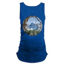 Yosemite's Half Dome Maternity Tank Top