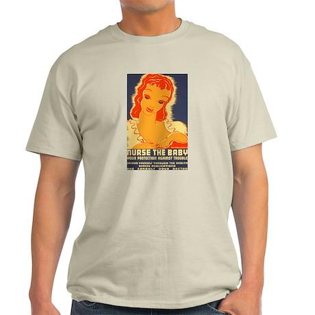 Breast Feeding Advocacy Light T-Shirt