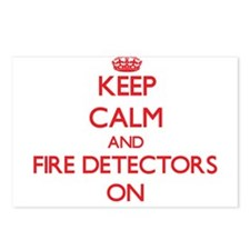 Keep Calm and Fire Detect Postcards (Package of 8)