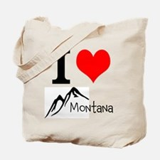 I heart Montana Tote Bag