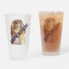 Lops Rule Drinking Glass