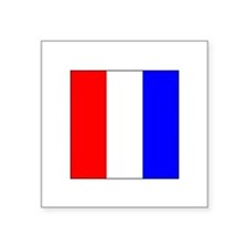 ICS Flag Letter T Sticker