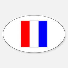 ICS Flag Letter T Decal