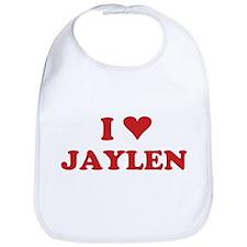 I LOVE JAYLEN Bib