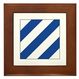 Ics flag Framed Tiles