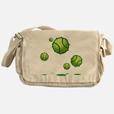 I Love Tennis Messenger Bag