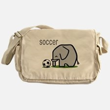 I Love Soccer Messenger Bag
