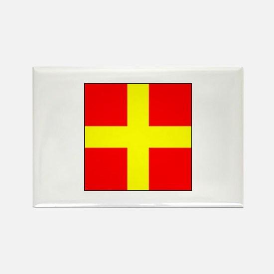ICS Flag Letter R Magnets