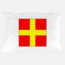 ICS Flag Letter R Pillow Case