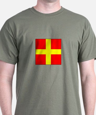 ICS Flag Letter R T-Shirt