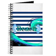 Beach on Stripes Journal
