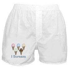 I Scream Boxer Shorts