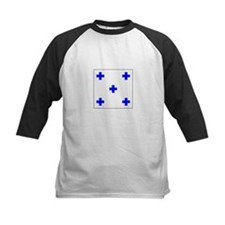 Allied Flag Number 0 Baseball Jersey