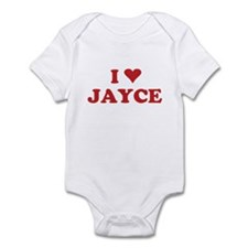 I LOVE JAYCE Infant Bodysuit
