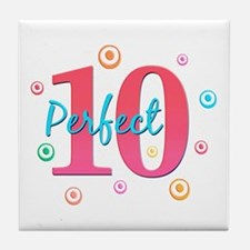 Perfect 10 Tile Coaster