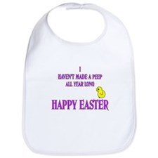 Happy Easter Peep Bib
