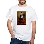 Lincoln's Pug White T-Shirt