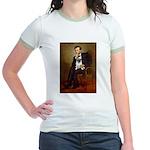 Lincoln's Pug Jr. Ringer T-Shirt