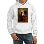 Lincoln's Pug Hooded Sweatshirt