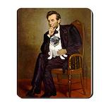 Lincoln's Pug Mousepad