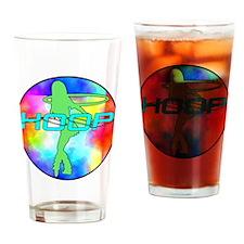 Unique Hula dancer Drinking Glass