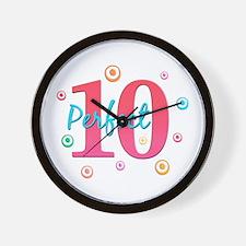 Perfect 10 Wall Clock