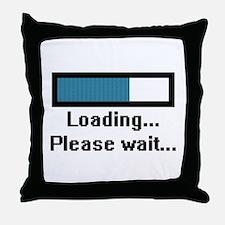 Loading... Please Wait... Throw Pillow