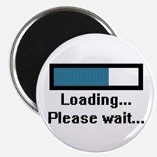 "Loading... Please Wait... 2.25"" Magnet (100 pack)"