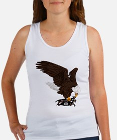 Eagle Crushes ISIS Women's Tank Top