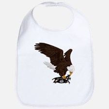 Eagle Crushes ISIS Bib