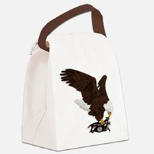Eagle Crushes ISIS Canvas Lunch Bag